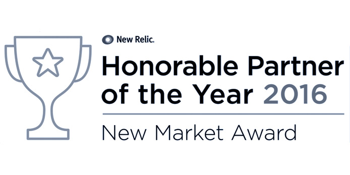 New Relic Honorable Partner of the Year